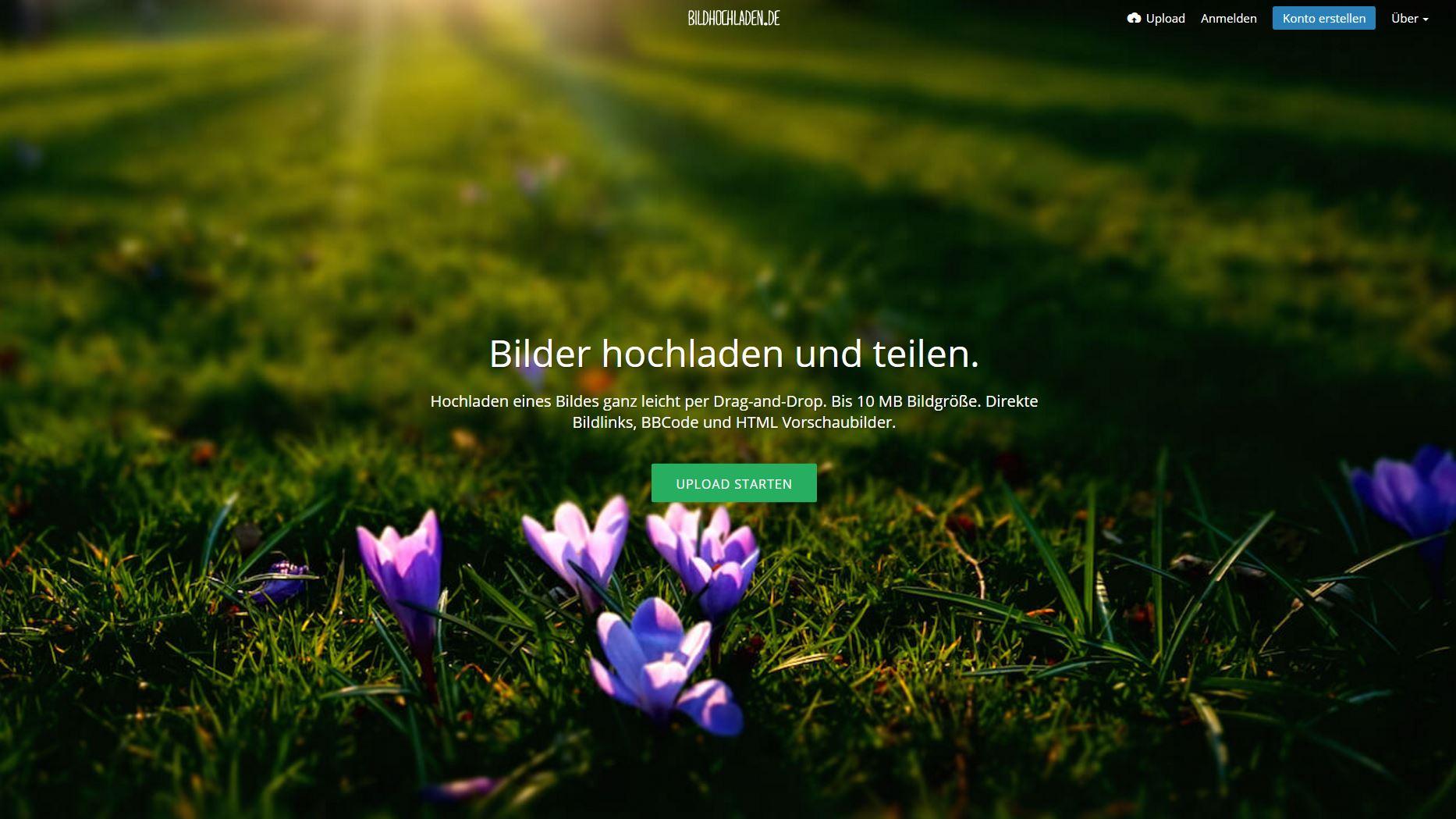 Kostenloses Bilder Hosting Bildercachede